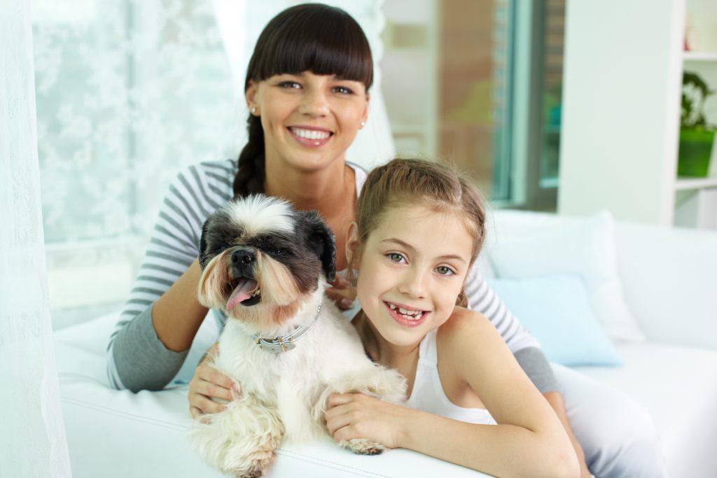 famille avec chien - PSLA